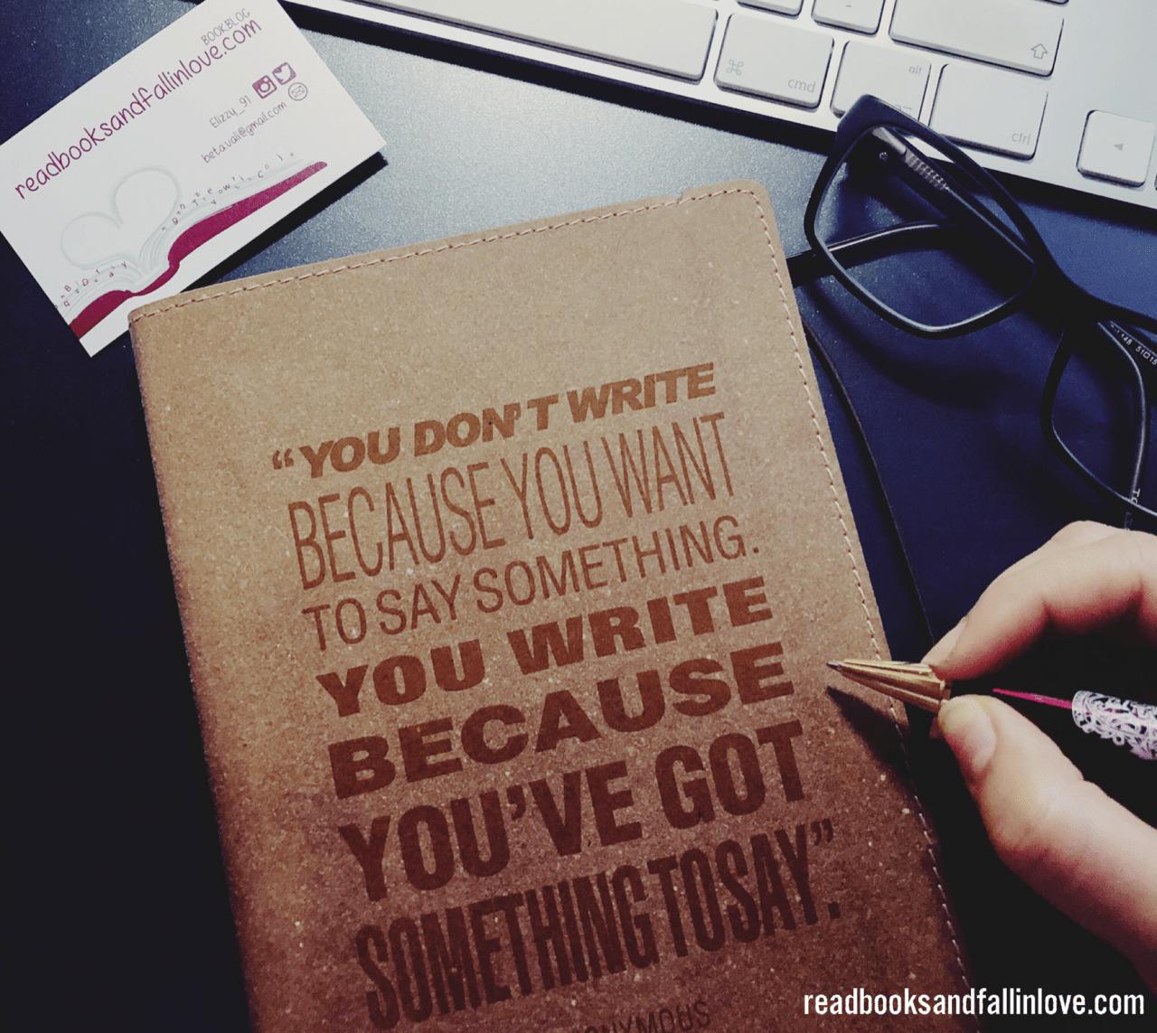 #WritingFriday Woche 1 Mein Vorsatz oder wieso es keinen gibt